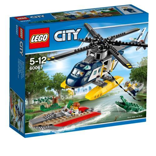 LEGO® City 60067 La Poursuite en Hélicoptère