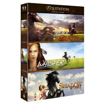 Coffret Equitation 3 films DVD