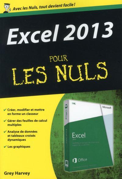 Pour les Nuls -  : Excel 2013 poche pour les nuls