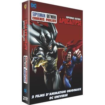 Coffret Superman Batman Apocalypse Ennemis publics DVD