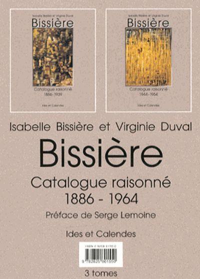 Bissiere - catalogue raisonné 1886-1964