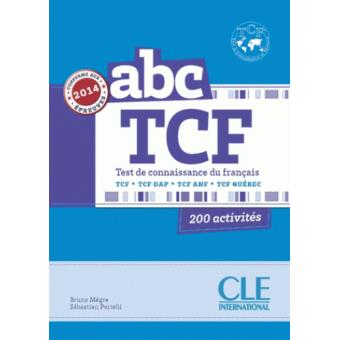abc tcf - livre + cd audio