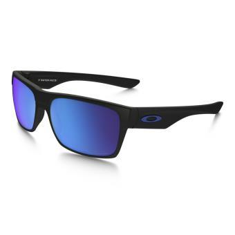 Lunettes de soleil à verres polarisants Oakley Twoface Noire et bleue 5893ca71bf0b