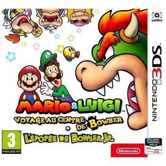 Mario & Luigi Voyage au centre de Bowser + L'épopée de Bowser Jr.
