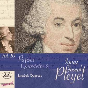 Edition Ignaz Joseph Pleyel Volume 10 Quatuors Parisiens Volume 2