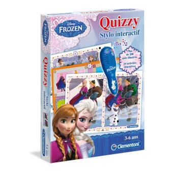Jeu interactif clementoni quizzy la reine des neiges jeu - Jeu reine des neiges en ligne ...