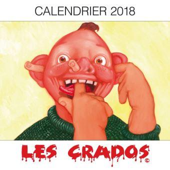 Calendrier 2018 Les crados