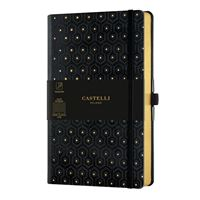 CARNET COPPER AND GOLD GRAND LIGNE HONEYCOMB GOLD