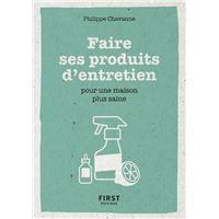 Petit livre de - Faire ses produits d'entretien pour une maison plus saine