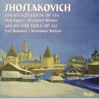 Sonate pour violon, opus 134  - Sonate pour alto, opus147