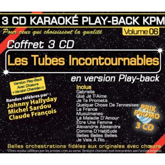 Play Back KPM Coffret Volume 6 Les Tubes Incontournables
