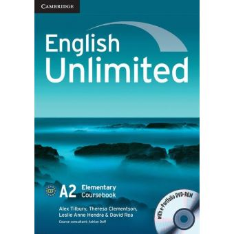 ENGLISH UNLIMITED - ELEMENTARY - COURSEBOOK WITH E-PORTFOLIO