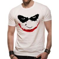 Tee-Shirt Batman The Dark Knight Joker Smile Outline Taille M