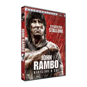 RamboJohn Rambo Edition Director's Cut DVD