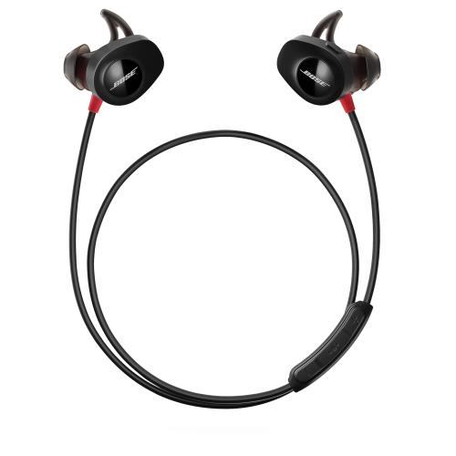 casque intra auriculaire bose rouge