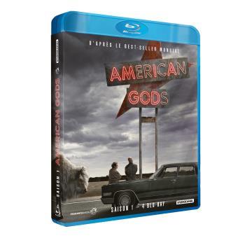 American GodsAmerican Gods Saison 1 Blu-ray