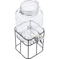 Point-Virgule Drink Dispenser + Metal Holder 3.6L