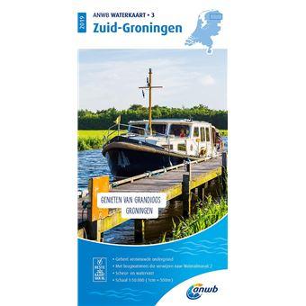 ANWB Waterkaart 3 Zuid-Groningen