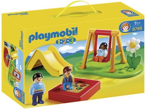 Playmobil 6785 Playmobil 1.2.3 Enfants et parc de jeux