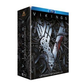 VikingsCoffret Vikings Saisons 1 à 4 Blu-ray