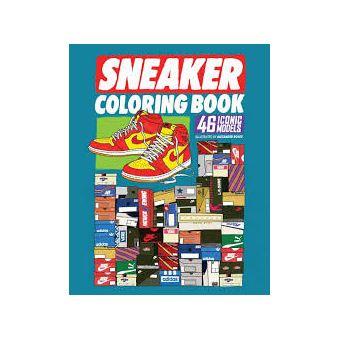 Sneaker Coloring Book Broche Alexander Rosso Achat Livre Fnac