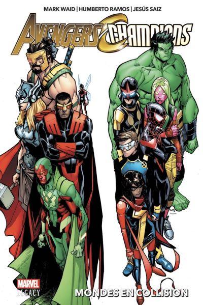 Avengers/Champions - Mondes en collision - 9782809483369 - 12,99 €