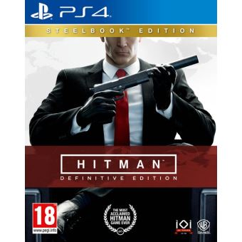 Hitman definitive steelbook edition MIX PS4
