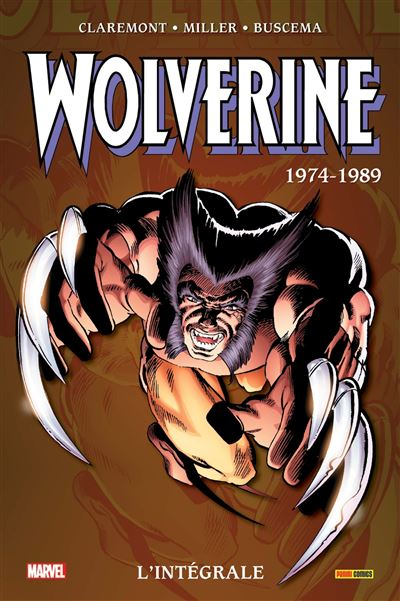 Wolverine: L'intégrale T01 (1974-1989)