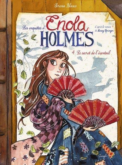 Les enquêtes d'Enola Holmes - tome 4 Le secret de de l'éventail
