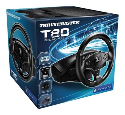 Volant Thrustmaster T80 PS3 & PS4