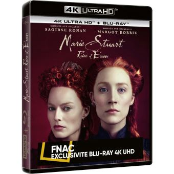 Marie Stuart Reine d'Ecosse Exclusivité Fnac Blu-ray 4K Ultra HD