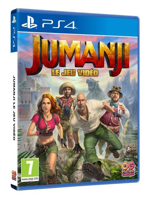 Jumanji Le Jeu Vidéo PS4