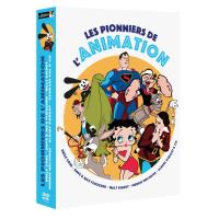 ANIMATION-COFFRET 4DVD-FR