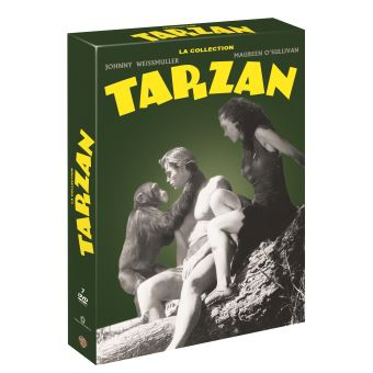 TarzanCoffret La Collection Tarzan DVD