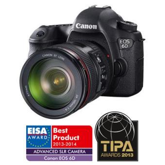 Reflex Canon EOS 6D + Obj. Canon EF IS USM 24 - 105 mm f/4.0 série L