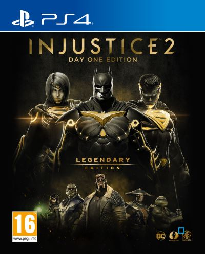 Injustice 2 Legendary Edition Day One PS4