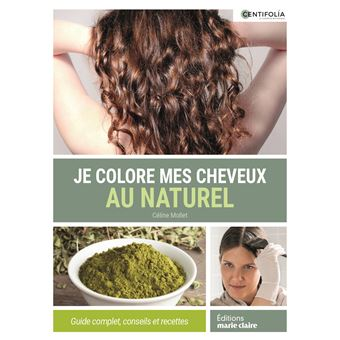 Coloration des cheveux au naturel