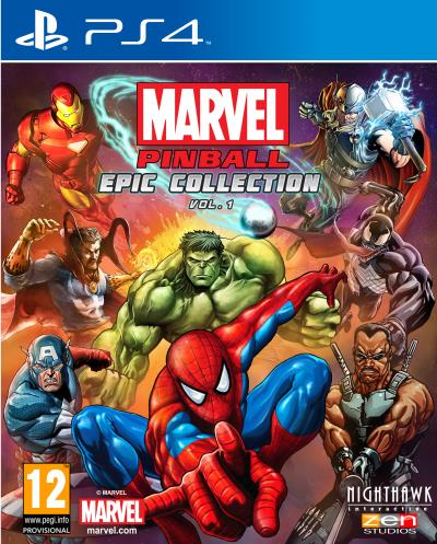 Marvel Pinball Epic Collection Vol. 1 PS4