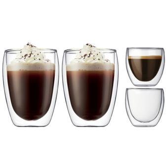coffret bodum 2 x 2 verres double paroi achat prix fnac. Black Bedroom Furniture Sets. Home Design Ideas