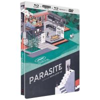 Parasite Edition Collector Steelbook Blu-ray 4K Ultra HD