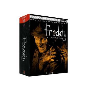 Coffret Freddy 7 films DVD