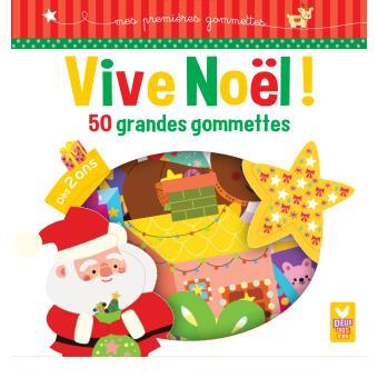 Vive Noel ! - 50 grandes gommettes
