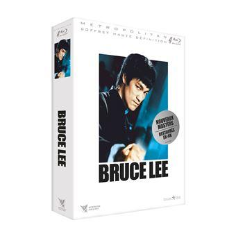 Coffret Bruce Lee 4 Films Blu-ray