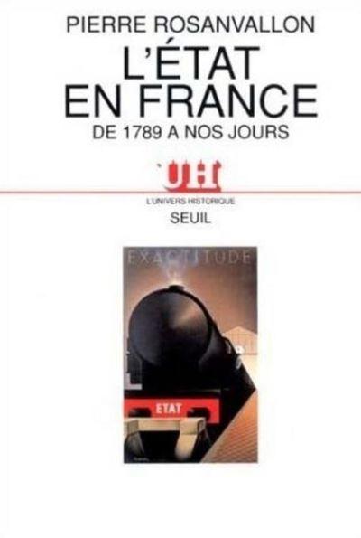 L'Etat en France de 1789 à nos jours - 9782021287745 - 9,99 €
