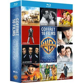 Coffret Histoire du cinéma 10 films Blu-ray