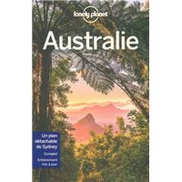Carte Australie Lonely Planet.Guide Lonely Planet Australie
