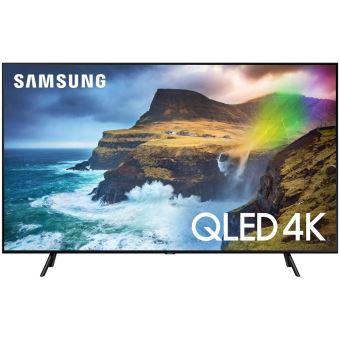 "Samsung QE55Q70RAL QLED 4K HDR Smart TV 55"" Black"
