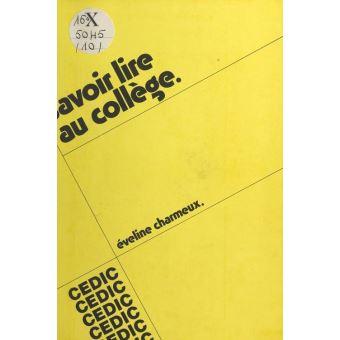 Savoir Lire Au College