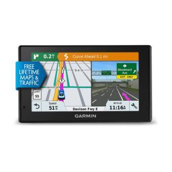 GPS Garmin DriveSmart 51 Full EU LMT-S Europe 45 Pays Cartographie et Trafic à vie