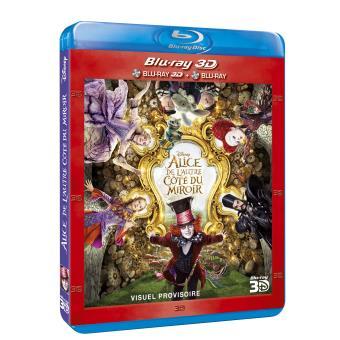 Alice de l'autre côté du miroir Blu-ray 3D + 2D